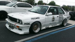 s52 swapped and turbo'd Warsteiner Liveried e30 m3