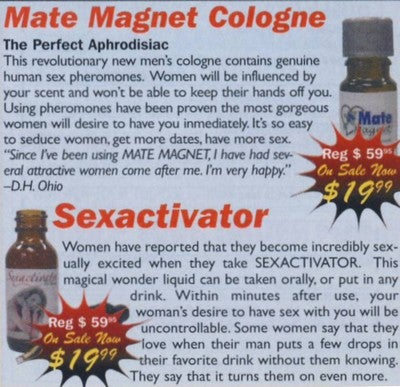 Baby, I Spiked Your Drink With Sexactivator: Scary Ads From The New Men's Fitness