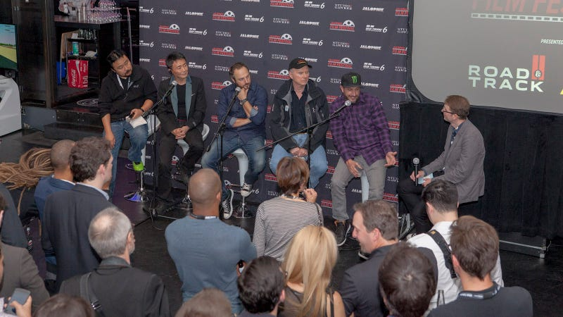 The 2013 Jalopnik Film Festival Opening Night Panel and Kickoff Party in photos