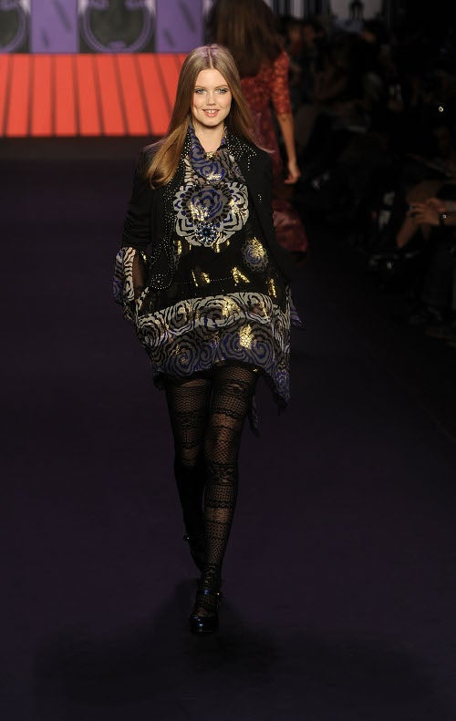 Anna Sui's Show Will Make You Smile