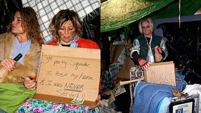 Top Foreclosure Firm Threw Homeless-Themed Halloween Bash