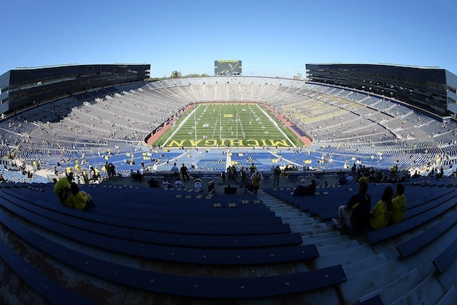 Cops Bust Late-Night Alcohol And Weed Party On Michigan Stadium Field
