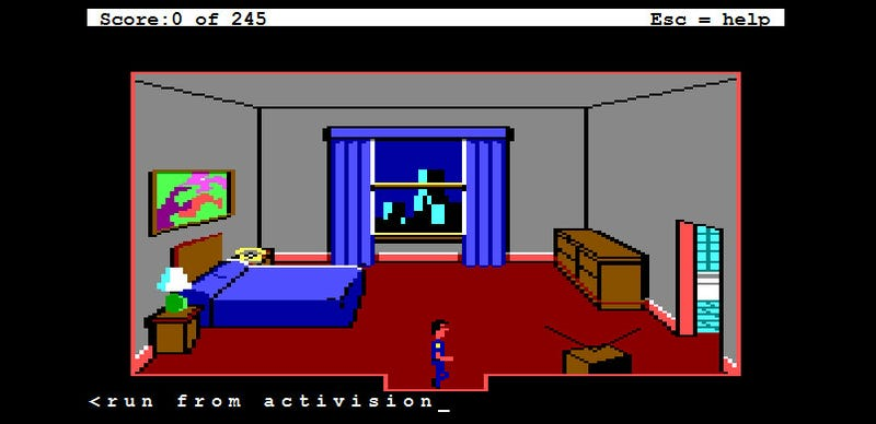 Play Old Sierra Games, For Free, In Your Browser