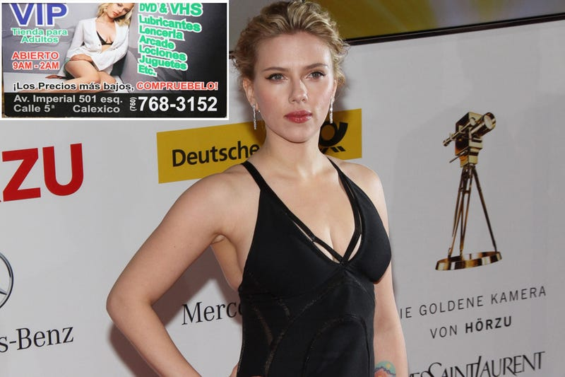 Spanish-Speaking Sexxx Store Uses Scarlett Johansson As Their Sexxxy Mascot