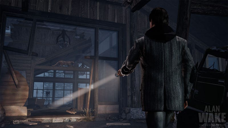 Alan Wake Story Details, New Screens