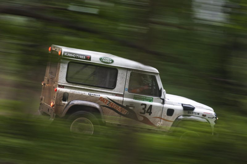 The First Land Rover Rally Series Trophy Is Still Anyone's Grab