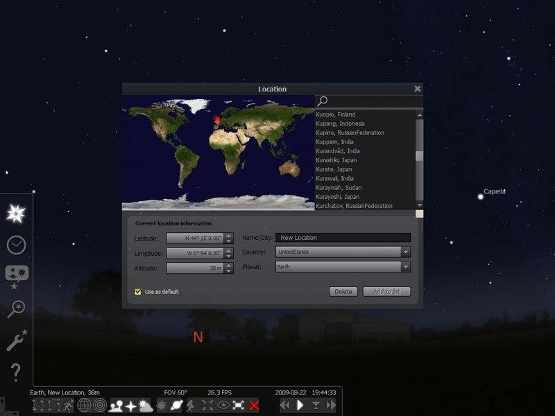 Stellarium Turns Your Computer Screen into a Planetarium