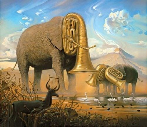 The cybernetic zoology of Vladimir Kush