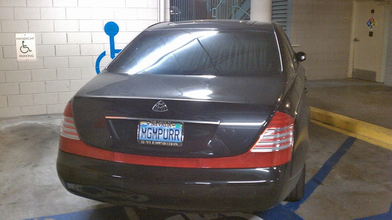 This is why people think Maybach drivers are asshats