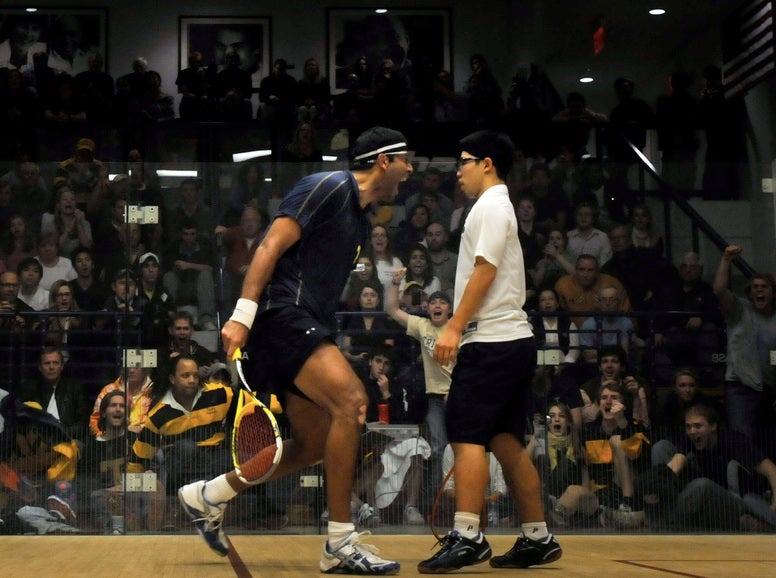 The Greatest Photo Ever Taken At A Squash Match