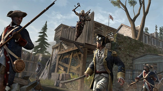 Finally, Assassin's Creed III's Star Tries to Kill an American