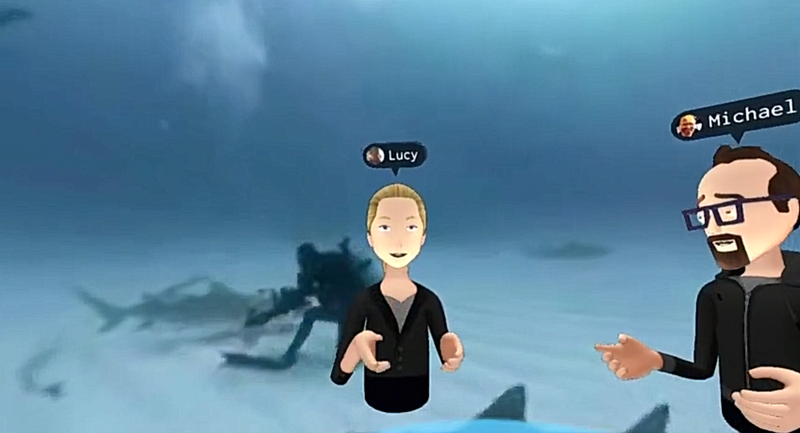 Mark Zuckberg's Absurd 'Social VR' Demo Was Brutal