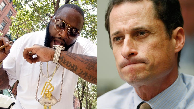 Rapper Rick Ross Weighs In on Anthony Weiner
