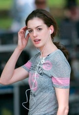 Anne Hathaway Gives The Gift Of Her Music