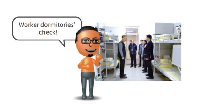 No, Nintendo Doesn't Send Miis to Check Chinese Factories