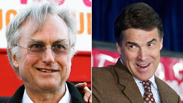 Richard Dawkins Gamely Takes On Rick Perry's Evolution Denialism