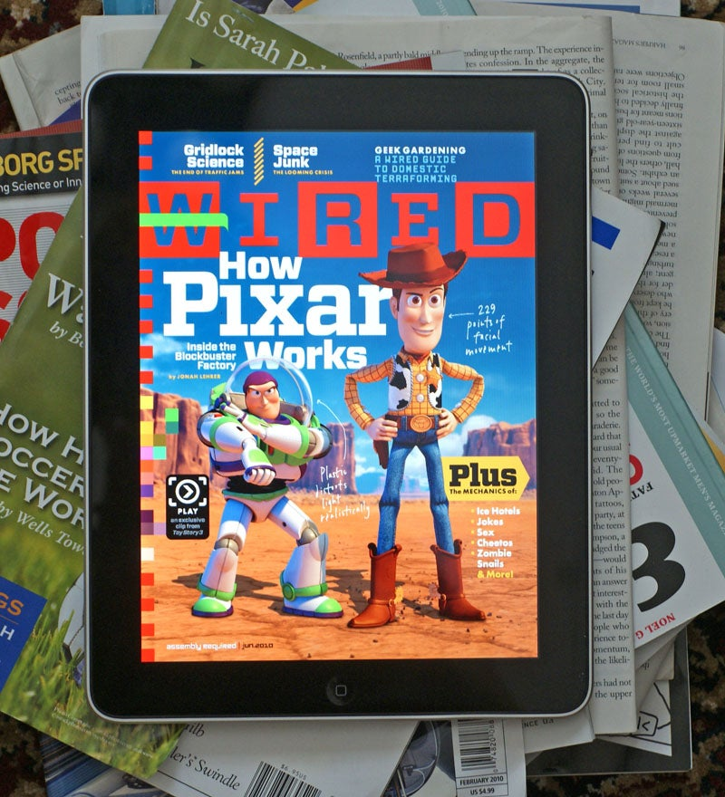 I'm Still Waiting for a Great iPad Magazine