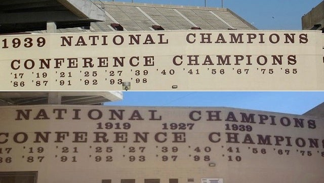 Texas A&M Picked Up Two National Championships, Two Conference Titles Over The Summer