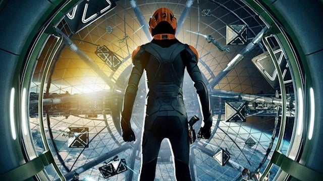 Get your first look at the Battle Room in the Ender's Game movie poster