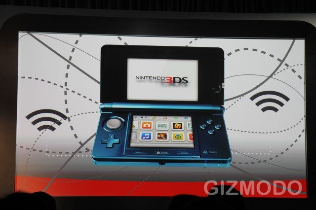 Nintendo 3DS Invades Your Eyeballs March 27 for $250