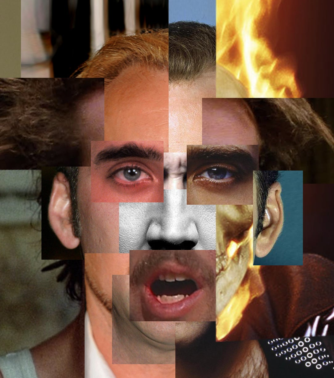 Can This Art Show Possibly Capture The Full Glory Of Nicolas Cage?