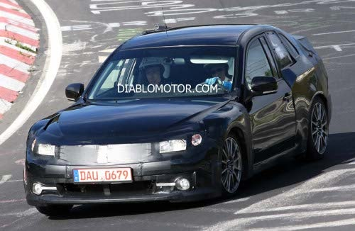 2011 Subaru Coupe Spied On The 'Ring, Again