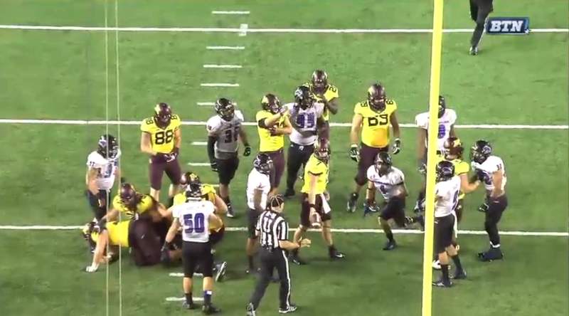 Eastern Illinois-Minnesota Featured A Three-Yard Punt And Dick Punch