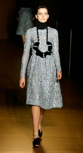 Prada Manages To Make Lace Anything But Dainty