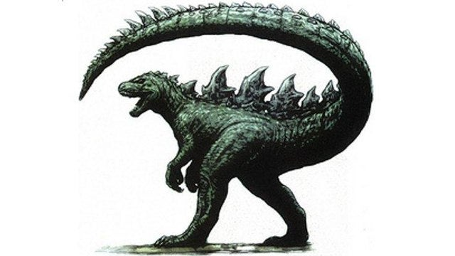 Check out rejected concept art for the brand new Godzilla movie