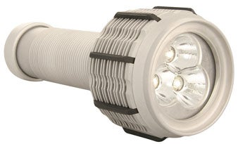 "Fox Fury's 1000-lumen LED ""MF"" 1000 Flashlight: No Relation to BFG, Brightest Ever"