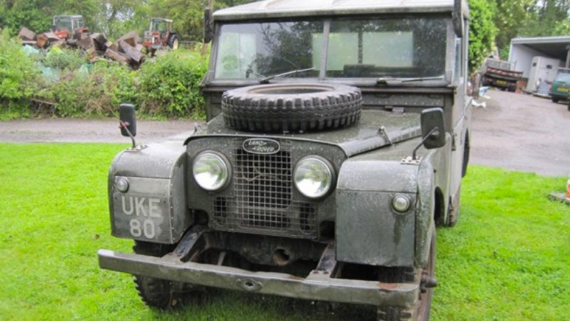 Winston Churchill's Land Rover Could Be Yours