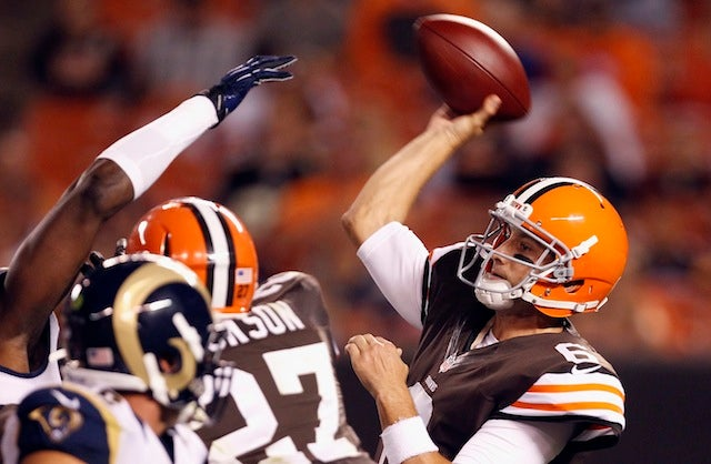 Browns Promote Third-String Quarterback To Starter