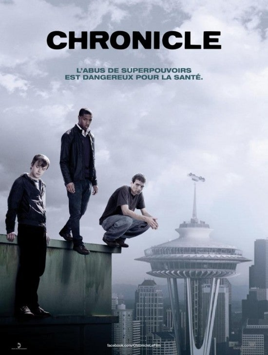 Chronicle Poster — French
