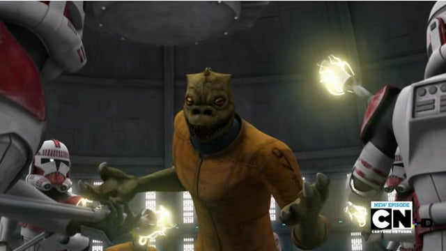 Boba Fett & Bossk show up on Clone Wars & Yogi Bear fights the Power Rangers!