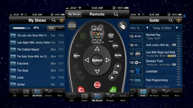 TiVo Remote App Gets Older Box Support and Comes to iPhone