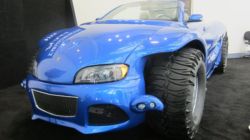 This Is The Most Ridiculous Car At The LA Auto Show