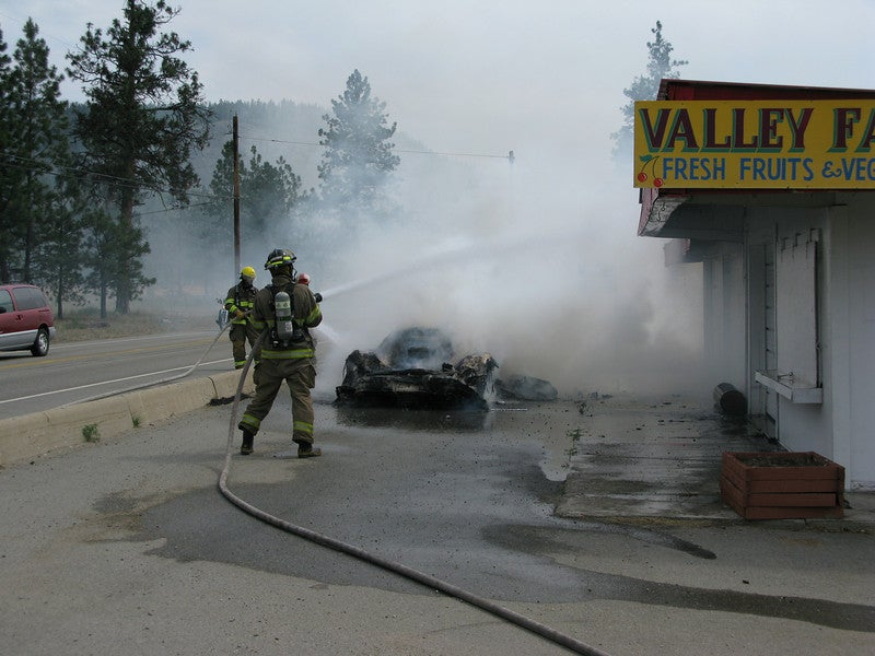 Save The Enzos! Priceless Ferrari Burns To Crisp In Canada