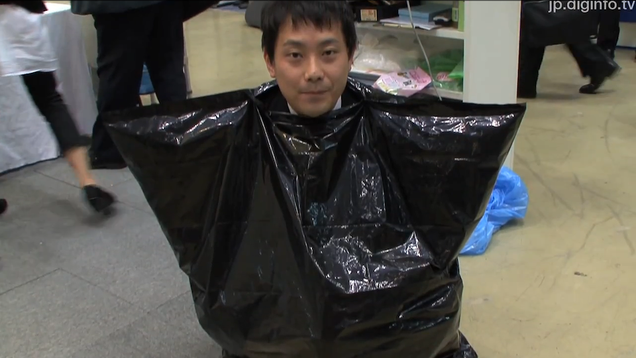 Japanese Emergency Toilet Is Pretty Much Just Shitting in a Trash Bag