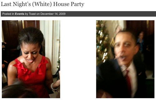 All Tonight's Holiday Parties: the White House, Vogue, Daily News
