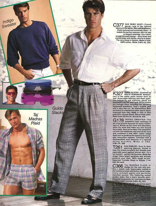 The Best & Worst Of 'International Male,' Summer 1986