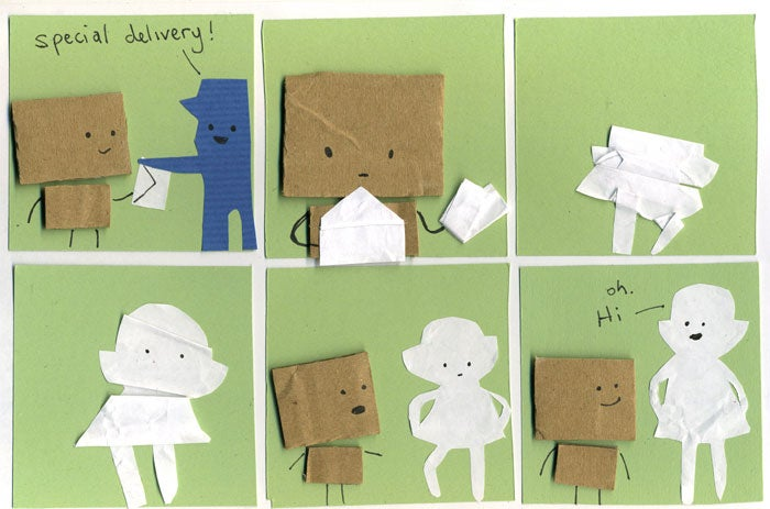 """""""My Cardboard Life"""" takes you inside the secret world of paper people"""