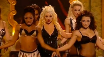 The Christina Aguilera & Rihanna Performances That Sent Brits Into A Tizzy