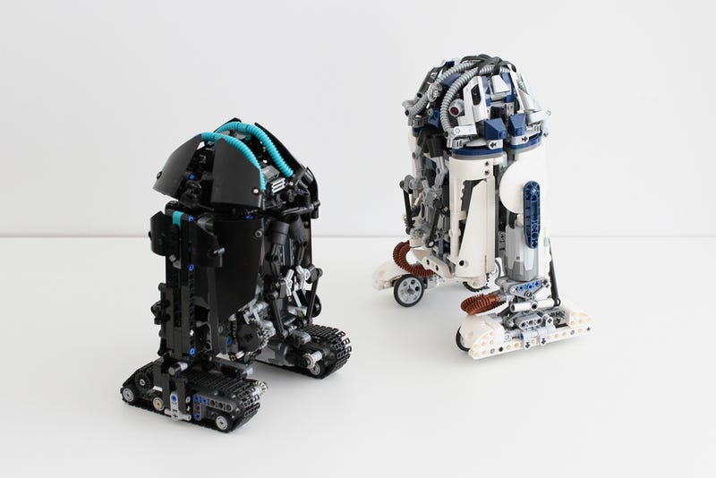 He may not be R2-D2, but I want this remote controlled Lego astromech