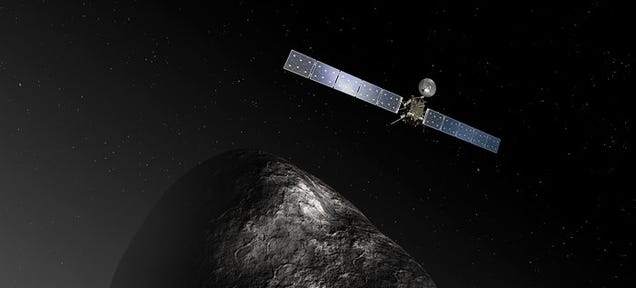 Rosetta's Comet Sheds New Light on the Origins of Water on Earth