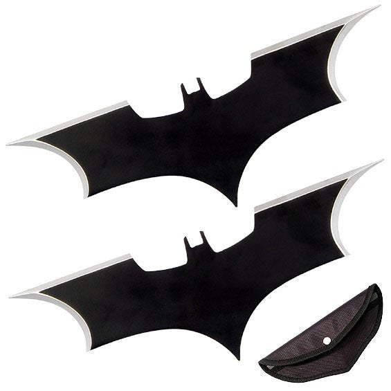 Dark Knight Batarangs: To Match Those Hockey Pads