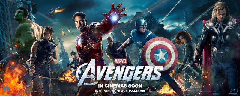 Assembled Avengers Banner