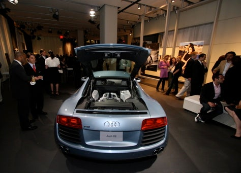 New York Auto Show: Audi S5 Midtown Tousled Hair Piano Bash