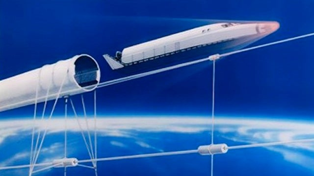 In the Future, Maglev Cannons Will Shoot Us Into Space