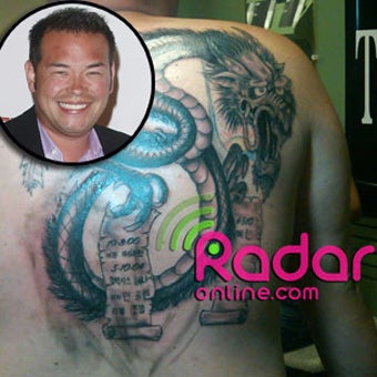 Jon Gosselin Got an Ed Hardy Shirt Tattooed On His Body