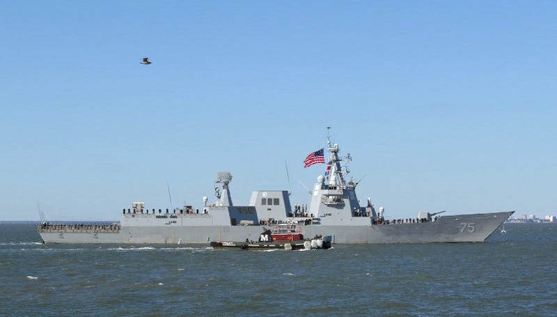United States Navy Guided Missile Frigate USS Robert B. Carney FFG-75